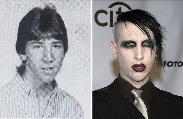 Marilyn Manson prin meta