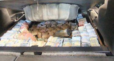 Έπιασαν Αλβανό που μετέφερε 1,3 εκατ. ευρώ κρυμμένα στην ρεζέρβα!