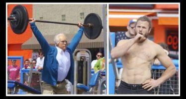 «Ηλικιωμένος» τα έβαλε με Bodybuilders και τους άφησε άφωνους!