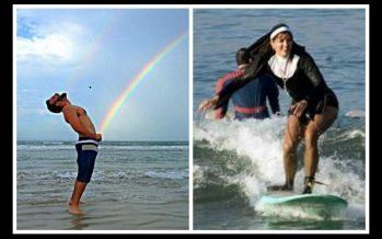 21 Τρελές φωτογραφίες που έχουν τραβηχτεί στην παραλία!