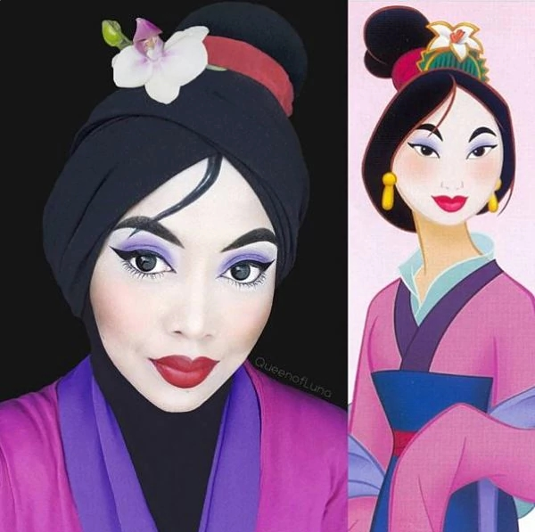 makeup artist Mulan