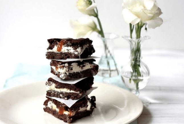 brownie caramel pagoto
