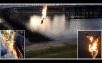 2 Έφηβοι έβαλαν φωτιά στον εαυτό τους για να μαζέψουν Like!