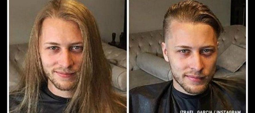 17 Άνδρες που μεταμορφώθηκαν αλλάζοντας κούρεμα!