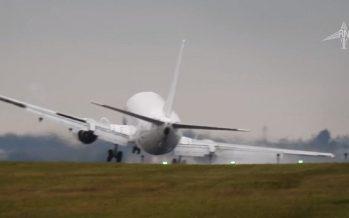 Η πιο ανώμαλη προσγείωση που έχεις δει από Boeing 737!