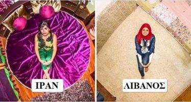 18 Φωτογραφίες με υπνοδωμάτια από όλο τον κόσμο!
