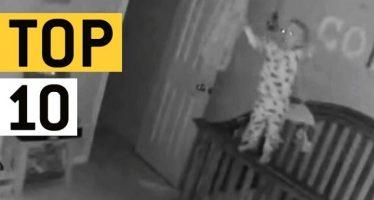 Οι 10 πιο τρομακτικές στιγμές που έχει καταγράψει μια κάμερα!