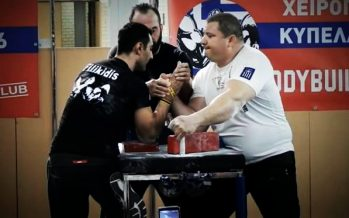 Αυτός είναι ο Έλληνας Παγκόσμιος πρωταθλητής στο bras de fer!