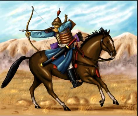 mongol-horseman