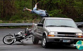 10 Συγκλονιστικά ατυχήματα με μηχανές που κατέγραψε μια GoPro!