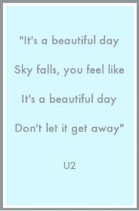 Beautiful Day - U2 stixi aggouria.net
