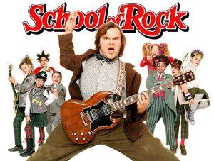 school of rock tainia me ton jack black