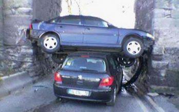 10 Απίστευτες εικόνες με απρόσμενα ατυχήματα με αυτοκίνητα!
