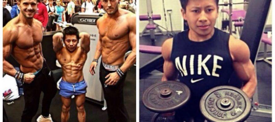 Τσουν Ταν: Ο μικρότερος bodybuilder της Βρετανίας!