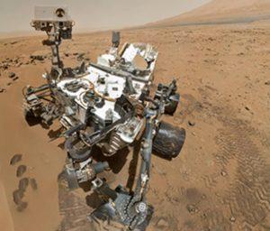 robot curiosity rover vgazie selfie