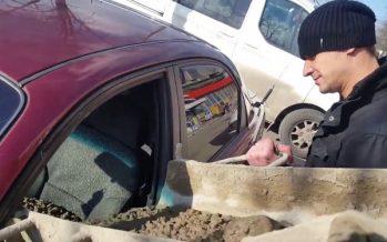 Ρώσος τσιμέντωσε το αμάξι της συζύγου του όταν άλλαξε το επίθετο της!