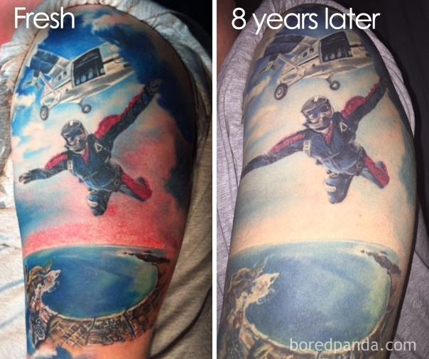 tattoos before after