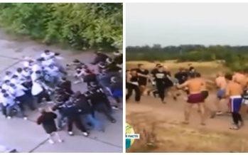 5 Άγριες μάχες που έχουν δώσει συμμορίες on camera!
