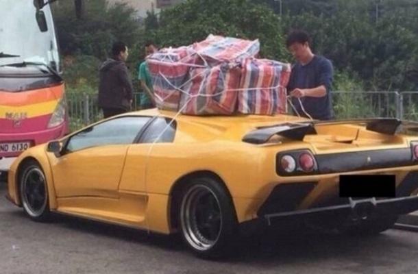 Lamborghini trelos odigos