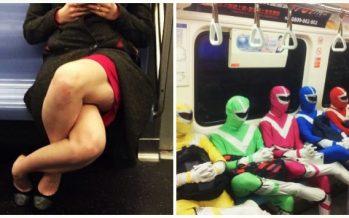 25 Παράξενα άτομα που μπορείς να συναντήσεις στο μετρό!