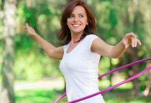 pilates me hoola hoop