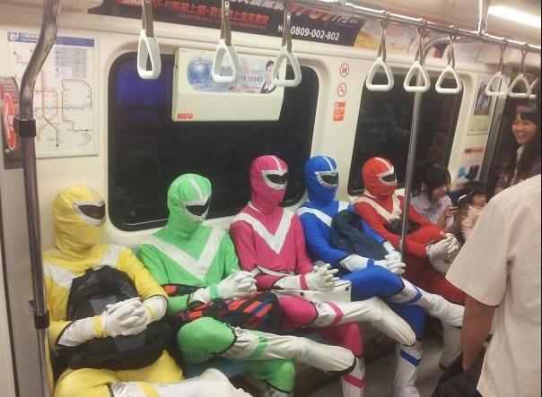power rangers metro
