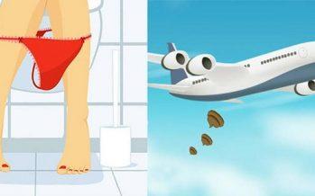 Που πάνε οι ακαθαρσίες όταν πηγαίνεις στην τουαλέτα του αεροπλάνου!