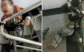 Μητέρα έδεσε τον γιο της επειδή δεν πήρε 97€ από την διατροφή!