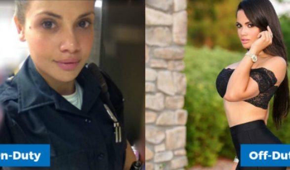 Πανέμορφη αστυνομικίνα κάνει εγκληματίες να παραδίνονται!