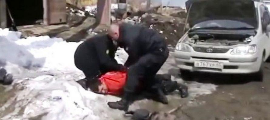 Δες γιατί δεν τα βάζει κανείς με την αστυνομία της Ρωσίας!