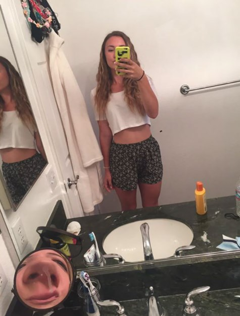 selfie kathreftis