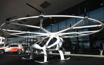 Η πρώτη απογείωση του πρώτου επιβατικού Drone!