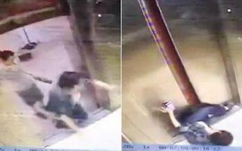 Κόπηκε το πόδι της απ' το ασανσέρ επειδή κοιτούσε το κινητό της!