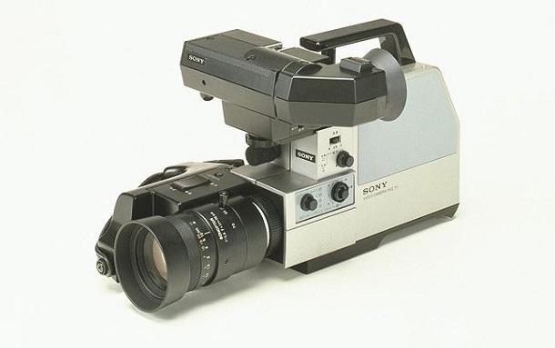 video camera sony
