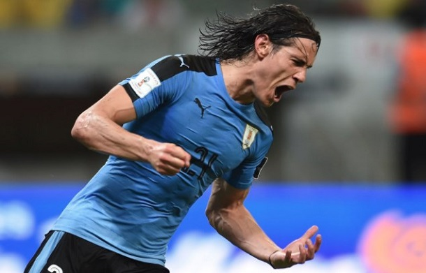 Edinson Cavani ourougouai