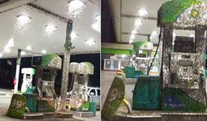 Αυτό είναι το πιο ανατριχιαστικό βενζινάδικο του κόσμου!
