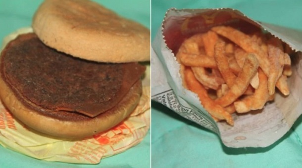 cheeseburger plastiko mcdonald's