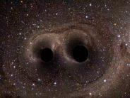 Πως 2 μαύρες τρύπες ενώνονται σε μία!
