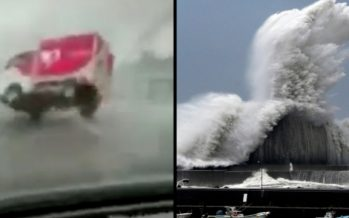 1 Εκ. άνθρωποι εκκένωσαν την Ιαπωνία λόγω τυφώνα!