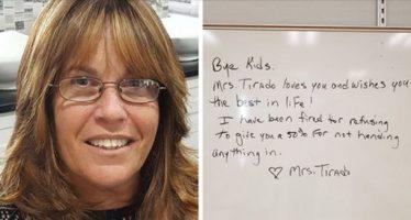 Δασκάλα απολύθηκε γιατί έβαλε 0 σε μαθητές!