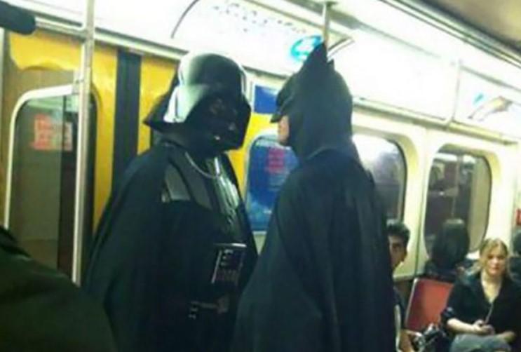 super heroes metro